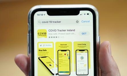 Ireland's Covid tracking app.