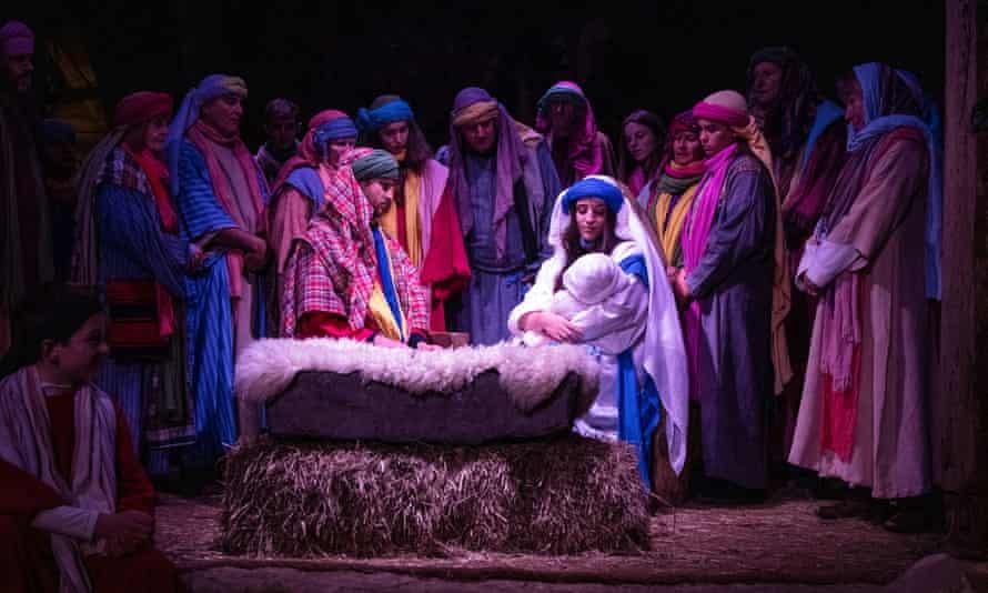 Wintershall Nativity play