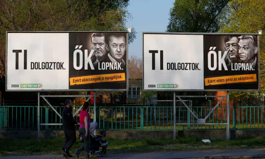 Lajos Simicska had provided advertising space for opposition parties such as Jobbik in the run-up to the April elections.