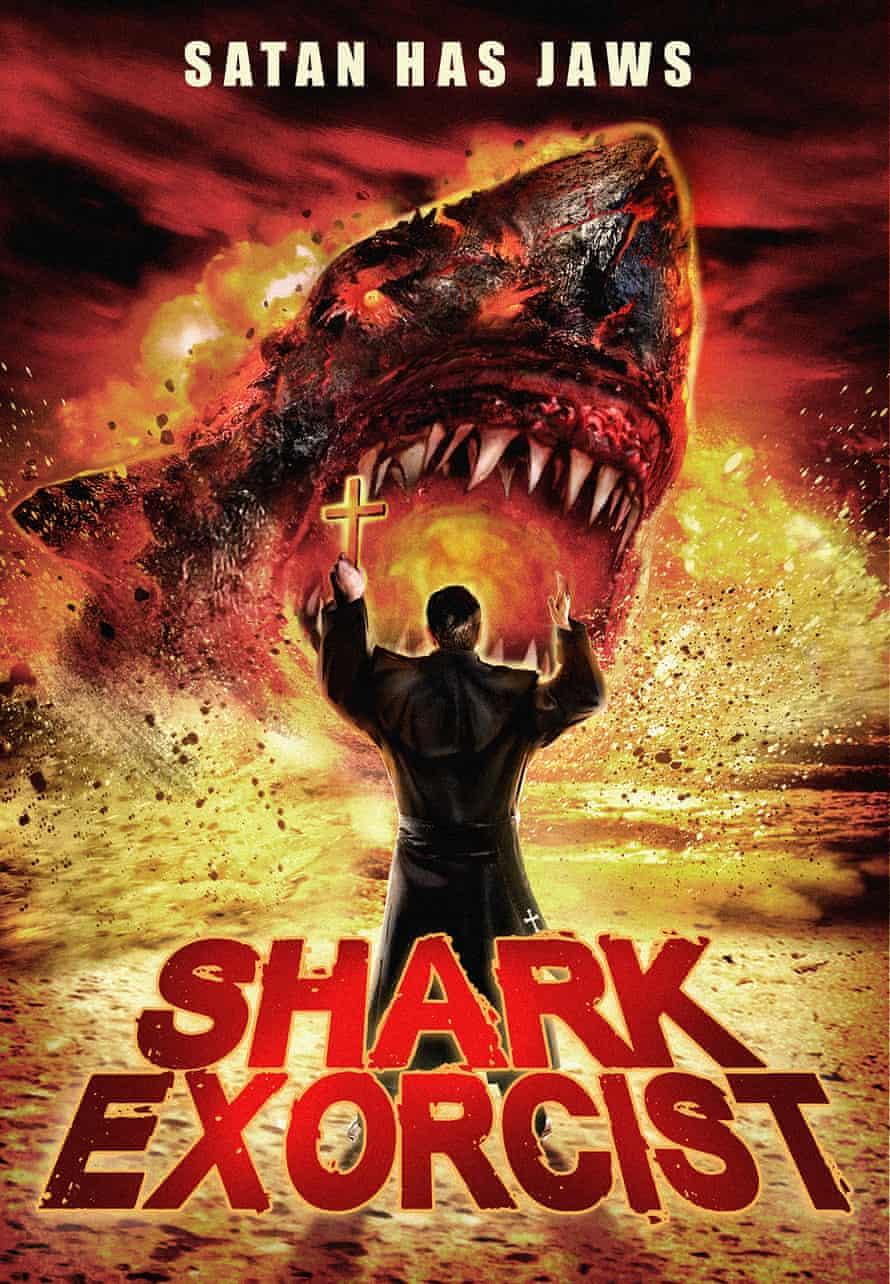 shark exorcist poster