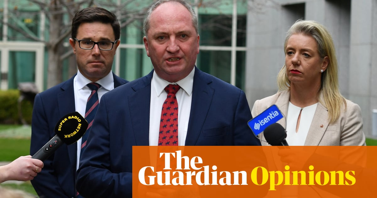 In a surreal turn of events, Barnaby's back and the grotesquery of Australian politics is laid bare