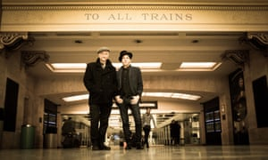 'If you live on the road, you better be willing' … Billy Bragg and Joe Henry