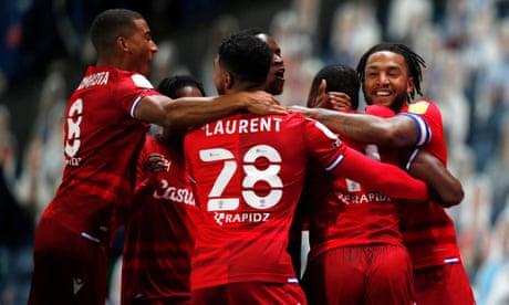 Championship roundup: Reading score inside 10 seconds in win at Blackburn