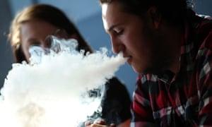 E-cigarette smoking in California. The study also asked how often teens vaped marijuana.