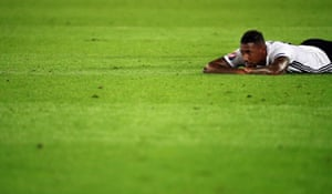 Jerome Boateng reflects before extra-time.