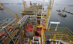 Tullow Oil's floating production, storage and offloading vessel