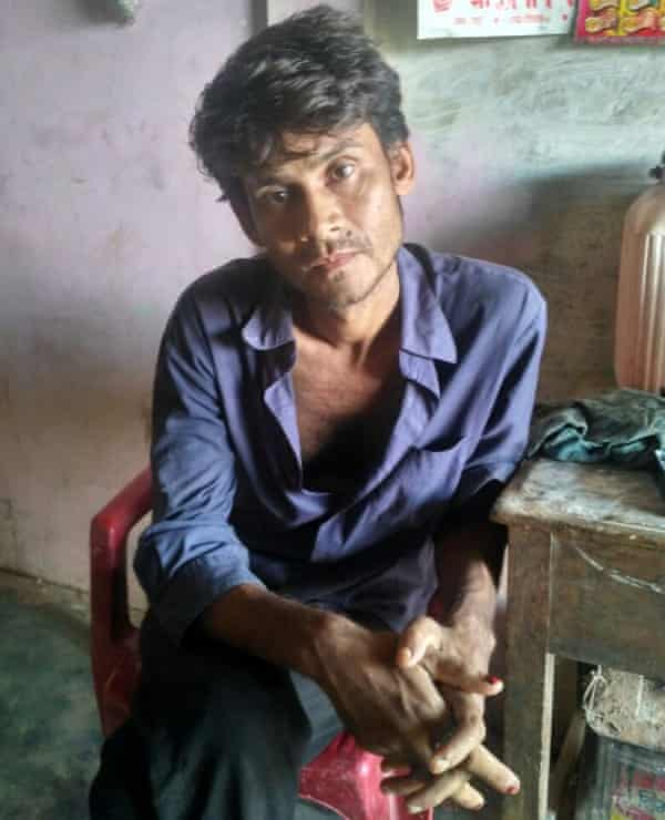 Hanif Khan, a driver from Cachar district in Assam, India, who was found dead on 1 January, 2018.