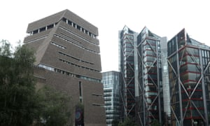 The boy fell from the 10th floor of Tate Modern, south-east London.