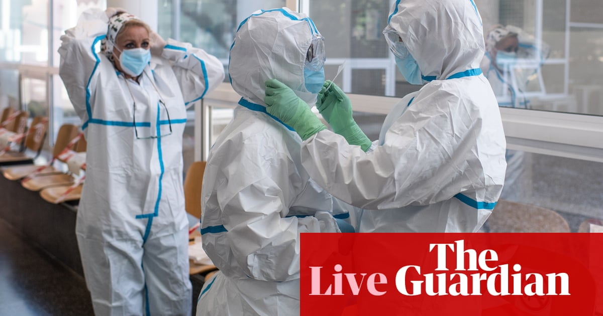 Coronavirus live news: Spain begins 10 days of mourning as global deaths near 350,000