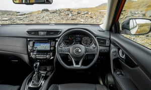 Inside story: the X-Trail's interior is clear, clean and easy to use.