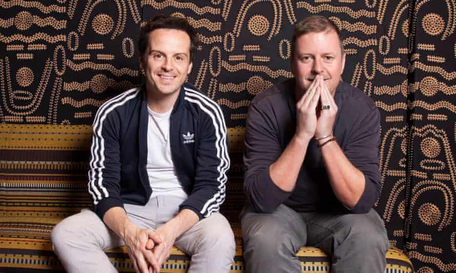 Andrew Scott and Handsome Devil director John Butler.