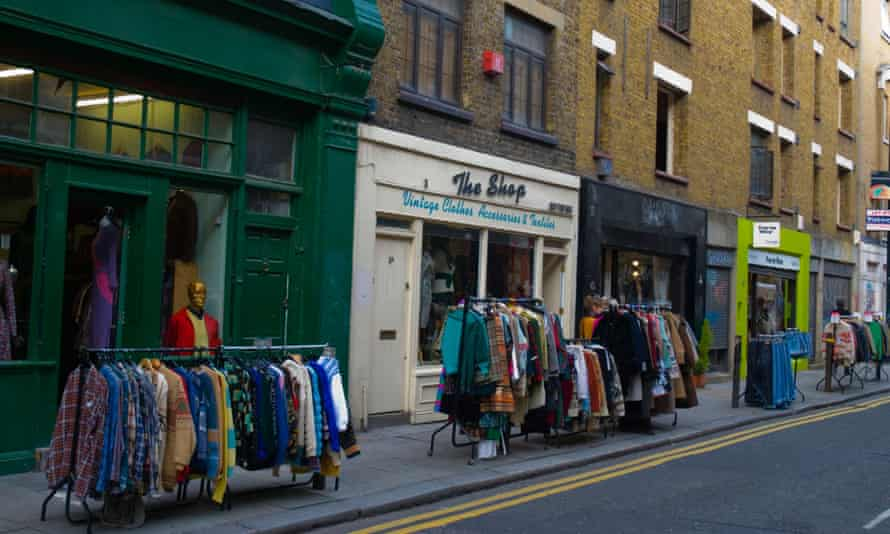 Clothes shops in Brick Lane