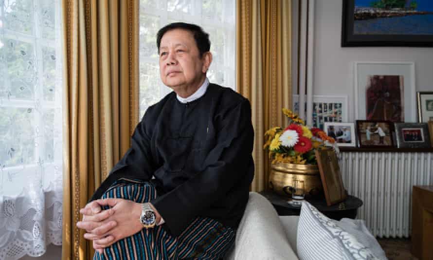 Kyaw Zwar Minn was removed from his UK post by Myanmar's regime.