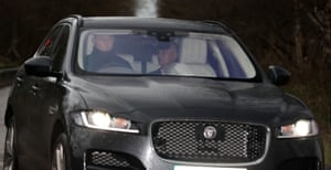 Jose Mourinho leaves the Aon Training Complex, in Carrington after being sacked.