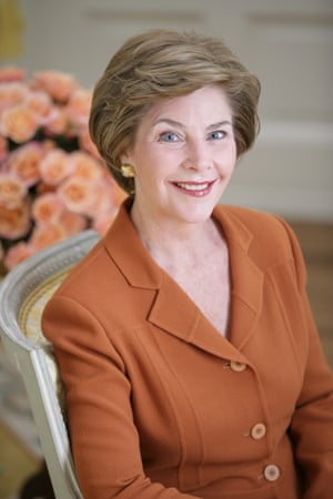 Laura Bush.
