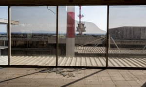 Another view of Athens' abandoned Hellinikon airport