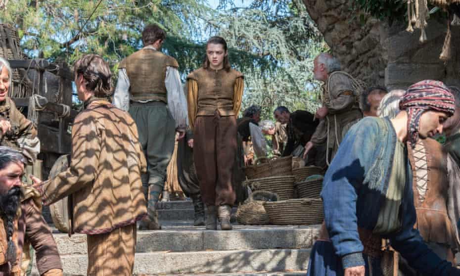 Arya Stark tries to buy passage home.