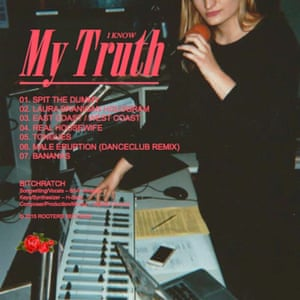 The cover of Bitchratch's debut album I Know My Truth.