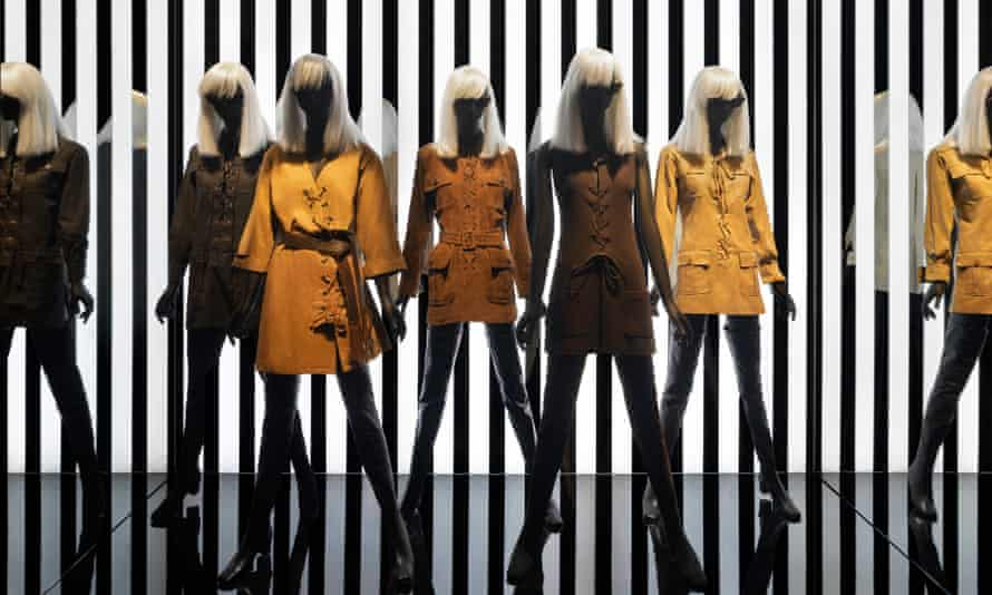 The Betty Catroux exhibition at the Yves Saint Laurent museum in Paris.