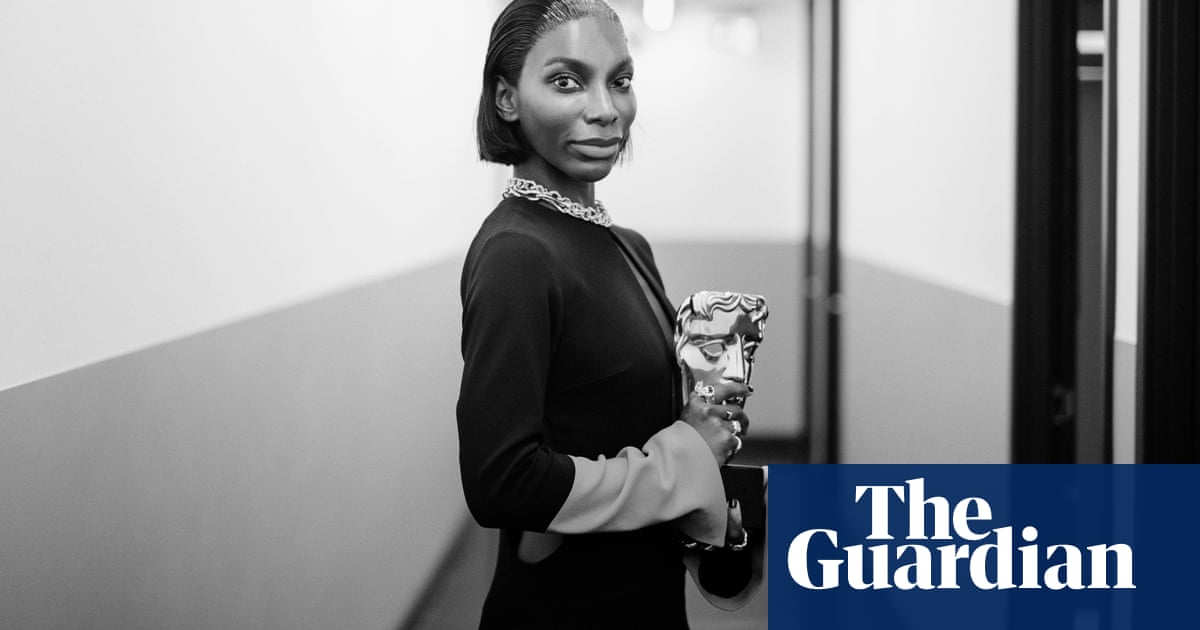 TV Baftas 2021: backstage with Michaela Coel, Paul Mescal and more – in pictures