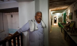 Salim Rubiyah, 61, head of the local association responsible for looking after the public buildings inside Shibam's walls.
