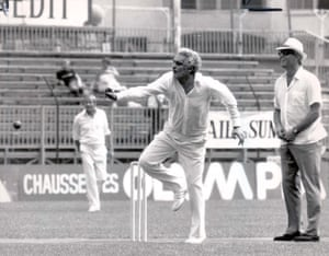 In Action At Lord's Taverners Xi Charity Cricket Match, 1984
