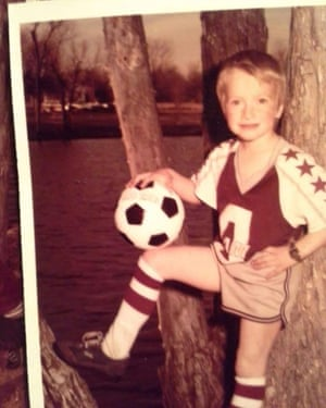 Troy Minton at the age of about eight. His mother died when he was 15 years old.