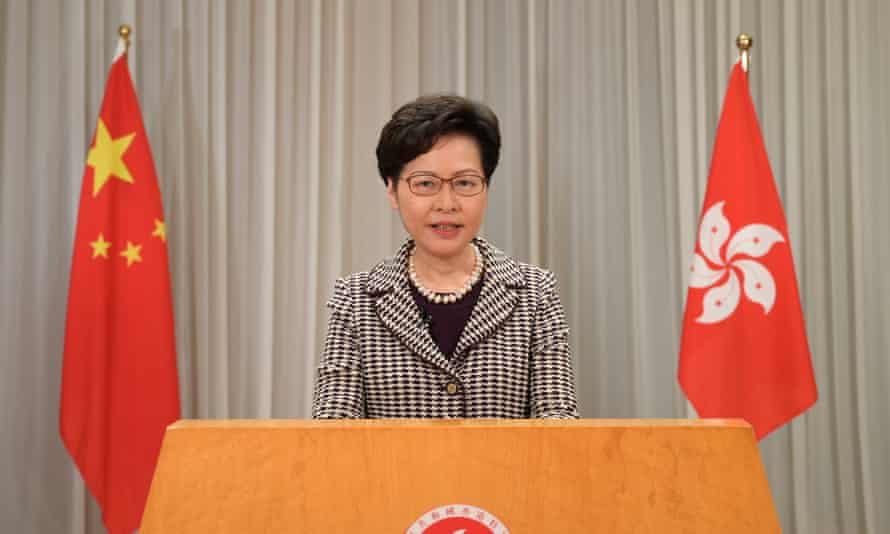 Carrie Lam's administration has struggled to find a company to represent Hong Kong in the wake of pro-democracy protests in 2019.
