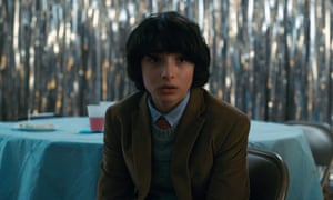 """Stranger Things"" (Season 2) TV Series - 2017Editorial use only. No book cover usage. Mandatory Credit: Photo by Netflix/Kobal/Shutterstock (9309863bu) Finn Wolfhard ""Stranger Things"" (Season 2) TV Series - 2017"