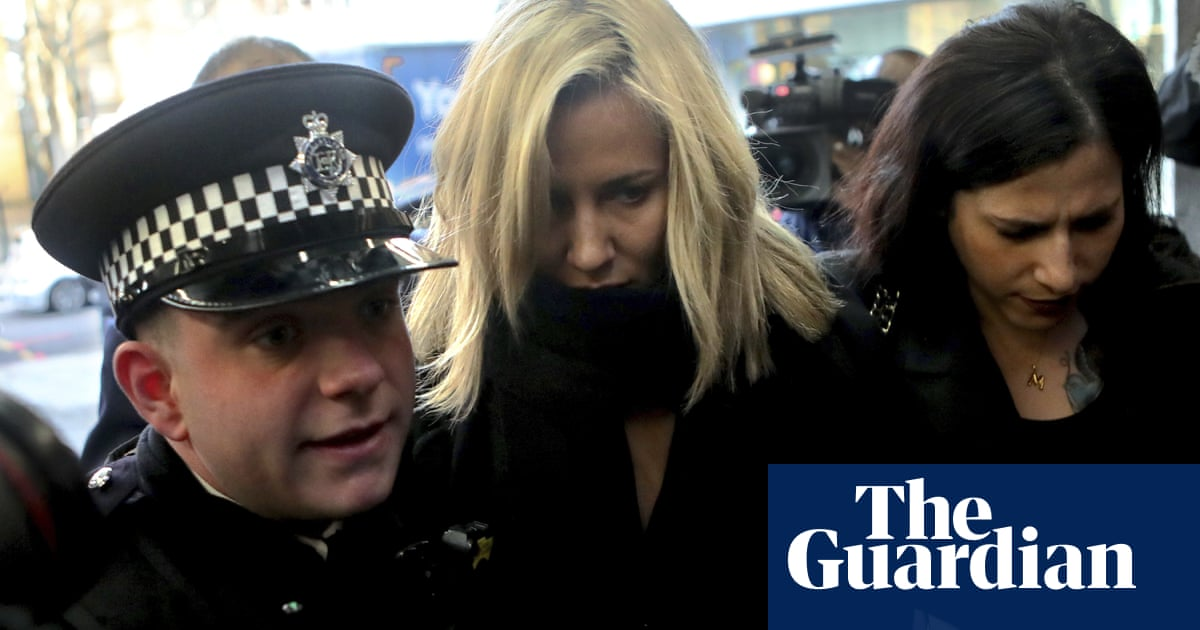 TV presenter Caroline Flack pleads not guilty to assaulting boyfriend