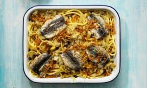 Mary Taylor Simeti's pasta and sardines