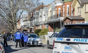 Police investigate an address associated with suspected terrorist Akayed Ullah on Monday in the Mill Basin section of the Brooklyn.