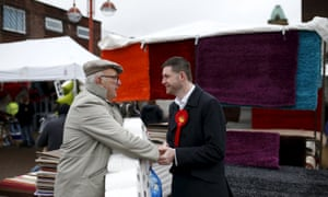 Jim McMahon, Labour candidate in Oldham West