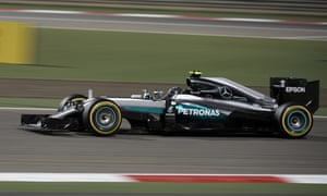 Nico Rosberg led from the first corner to go on and eventually win.