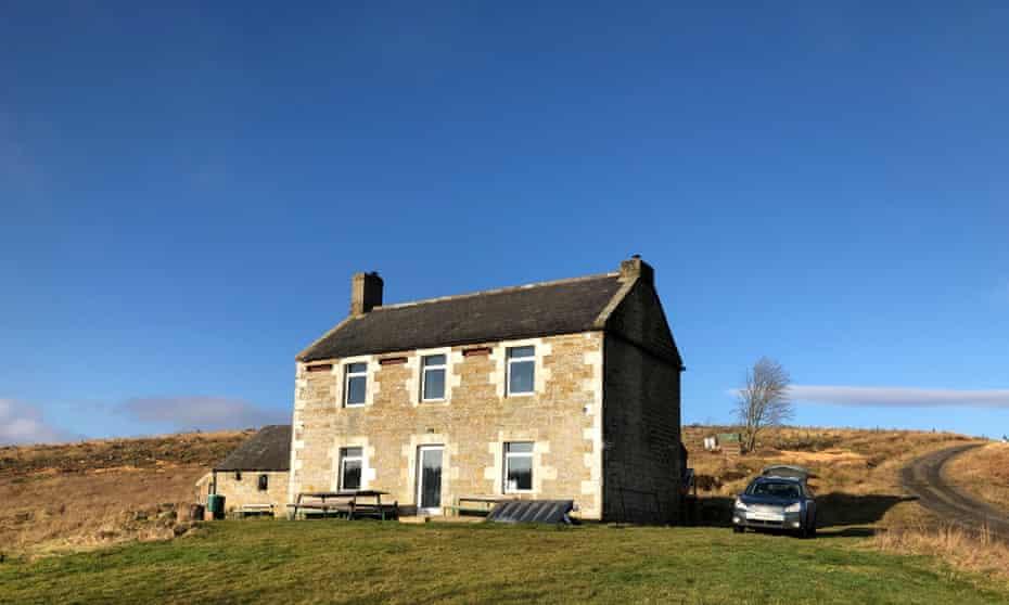 Exterior Chartners Farm, Northumberland
