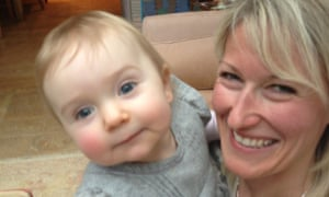Claire Smith, pictured with her 15-month-old daughter Milli