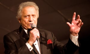 Buddy Greco performing in London in 2011.
