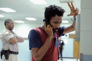 Donald Glover as Earnest Marks in Atlanta.