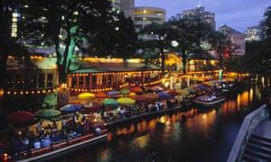 San Antonio's River Walk canals.