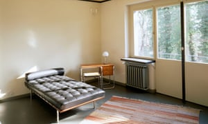Living room of the Masters' House, designed by Walter Gropius.