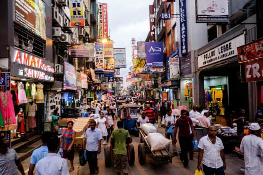 Pettah Market, Colombo, Sri Lanka,