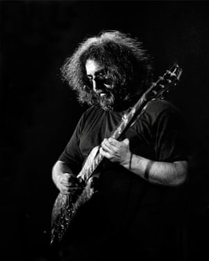 Jerry Garcia during The Grateful Dead's Terrapin Station tour in Toronto on 2 November, 1977. The band hadn't played in the city for seven years and photographs from this show were ultimately used on the album Dave's Picks Vol.12.