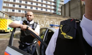Met police officers wearing body cameras