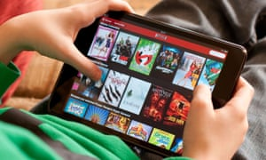 Spending on digital TV and films surged 30% to top £1bn for the first time in 2015.
