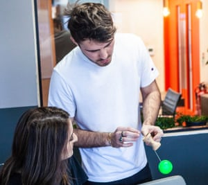 Alfie Deyes and his team shot at A-Z Creatives offices in Brighton in Jan 2019 by Alex Lake