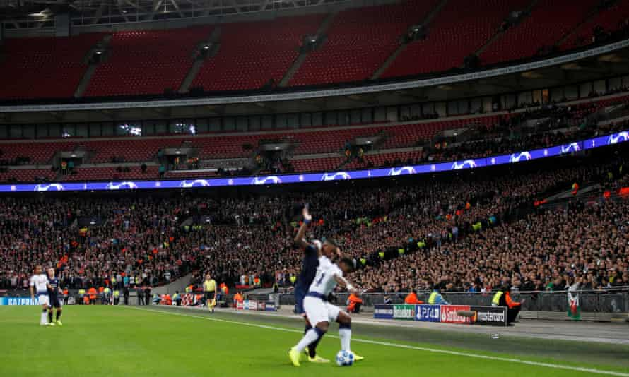 The attraction of going to Wembley is wearing off for many Tottenham supporters.