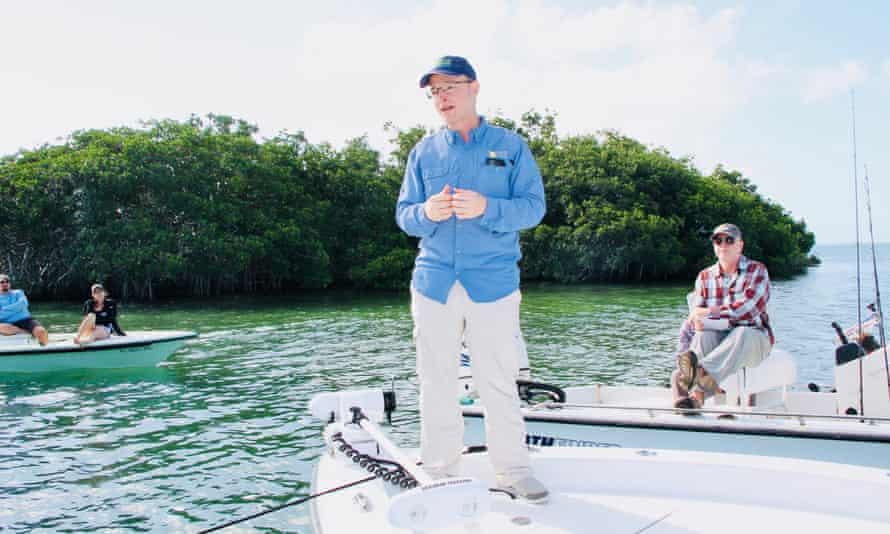 Steve Davis, the senior ecologist at the Everglades Foundation.
