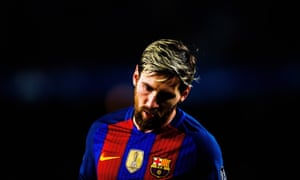 Lionel Messi was in the midst of contract negotiations with Barcelona when he was caught up in a fake news storm.