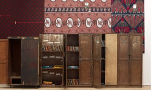 Heart-wrenching artefacts … Ibrahim Mahama's Parliament of Ghosts.