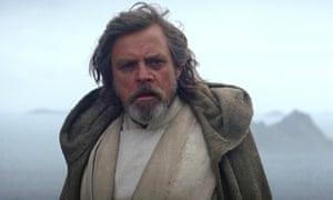 Star Wars: The Last Jedi … Mark Hamill as Luke Skywalker.